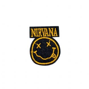 Nirvana - Sew On Patch (Small)